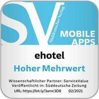Offiziell bestätigt: Die App von ehotel® hat hohen Mehrwert