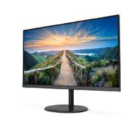 AOC präsentiert die neue Monitor-Serie V4 mit schlankem Design, IPS-Panel und hoher Auflösung