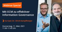 Webinar: Tipps zu Information Governance im Büro und remote