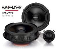 Supersound im VW T6 mit EMPHASERs Lautsprecher EM-VWF2