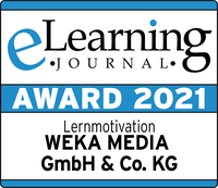 In der Kategorie Lernmotivation: WEKA MEDIA gewinnt eLearning AWARD 2021
