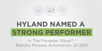 "Hyland ist ""Strong Performer"" im Forrester Wave Report für Robotic Process Automation"