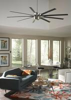 Ein Ventilator für grosse Räume und eine Vielzahl an Einrichtungsstilen