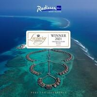 Ausgezeichnet! Radisson Blu Resort Maldives holt wichtigen Titel bei den Luxury Lifestyle Awards 2021