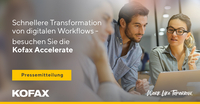 Schnellere Transformation von digitalen Workflows auf der Kofax Accelerate