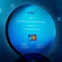 Arvato Supply Chain Solutions erhält von Intel den Preferred Quality Supplier Award 2020