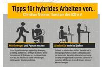 Tipps für hybrides Arbeiten im Home Office