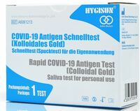 Zulassung von Laientest Anbio/Hygisun Spucktest zur Eigenanwendung erhalten