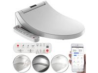 BadeStern Smarter Dusch-WC-Aufsatz, Föhn-Funktion & App