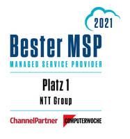 """Die NTT Group ist """"Bester Managed Service Provider Deutschlands"""""""