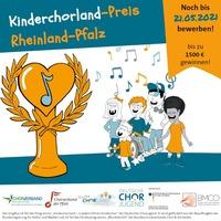 Kinderchorland-Preis Rheinland-Pfalz und weitere Förderpreise mit 9.500 Euro dotiert
