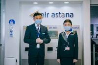 """Stressfrei durch die Flughafenterminals: Air Astana führt neuen """"Meet & Greet""""-Service ein"""