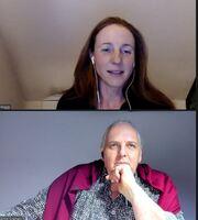 Peggy-Seegy im Podcast Interview Ergebnisorientiert in der 1.100 Folge von Ernst Crameri
