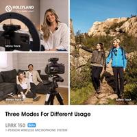 Hollyland kündigt Solo-Kit für das drahtlose Lark 150 Mikrofonsystem für Vlogger an