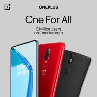 OnePlus-Meilenstein in Europa: 3 Mio Nutzer auf oneplus.com