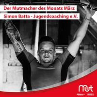 Simon Batta wird Mutmacher des Monats März