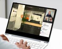 FLUX 360° kombiniert Showroom mit Videokonferenz und freien Rundgängen