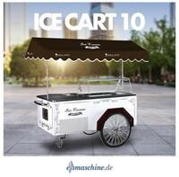 Eisfahrrad oder Eiswagen - der Trend geht zum TO GO - Eis