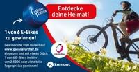 Entdecke Deine Heimat: Gaensefurther verlost E-Bikes und attraktive Tagespreise