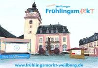 Der Frühling kommt: Weilburg eröffnet ersten virtuellen Frühlingsmarkt