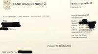 Potsdam: Dietmar Woidke, Ursula Nonnemacher, Hertha-Schulz-Haus, Oberlinhaus, seit 24 Wochen keine Tagesförderung für behindertes Kind, trotz Vertrag