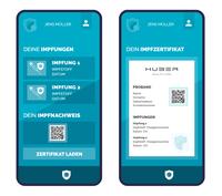 Digitale Impf- und Testlösung mit e-Impfpass und App