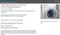 Die Reinigungsexperten von Ihr Clean Team Hamburg geben Reinigungstipps online
