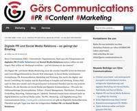 Digitale PR und Social Media Relations - so gelingt der Einstieg
