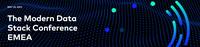 Fivetran lädt zur virtuellen Modern Data Stack Conference ein.   Dienstag, 25. Mai 2021, 10:00 - 17:00 Uhr