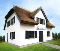 Reethaus Ferienhaus Bernadette am Meer ca 100 m zur Ostsee 8 Betten Sauna Wlan Kamin Waschm 2 Terrassen eingezäunt
