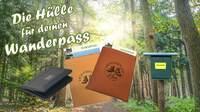 Wanderpasshülle von BESSLA Gravurwerk erobert den Harz