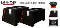"Punchy Bass Boxes: EMPHASER""s EBR-M8DX and EBR-M10DX"