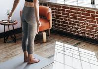 Kleine Übung für einen geraden Rücken