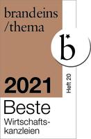Auszeichnung - Sozietät Bietmann unter den besten Wirtschaftskanzleien