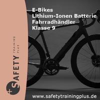"""E-Bikes und Pedelecs - Gefahrgut? SAFETY Training Plus GmbH  Gefahrgut Online Schulungen """"E-Bikes / Lithium-Ionen Batterie / Klasse 9"""