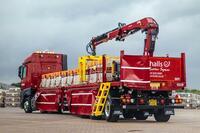 Die britische Firma Marshalls erhält von Hiab 108 neue HIAB-Ladekrane