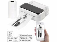 Callstel Mobiler XL Akku-Foto-Thermodrucker TD-150.app