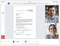 Digital unterschreiben direkt im Online-/Video-Meeting