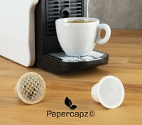 Kaffeekapseln aus Zellulose - Papercapz revolutionieren den Markt der Kaffeekapseln