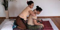 Massage auf die thailändische Art