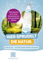 """Deutsche Mineralbrunnen und Getränkehandel starten Kampagne """"Pro Mineralwasser"""""""