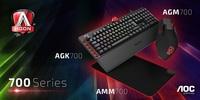 Mechanische Tastaturen, Mäuse und Mousepads: AOC erweitert sein Gaming-Universum