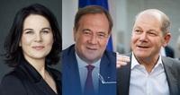 Sind die drei Kanzlerkandidat*innen vertrauenswürdig?