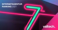 Valtech belegt erneut Spitzenplatzierungen im Digitalagentur-Ranking 2021