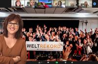 WELTREKORD - 1. Internationaler Zoom-Hack-Slam von Hermann Scherer - 312 Menschen teilen ihr Wissen