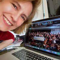 Online Weltrekord: Susanne Lührig, Hermann Scherer