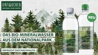 Nachhaltige Erfrischung mit UNTOUCHED National Park Water