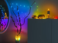 Luminea Home Control RGB-LED-Lichterdraht, 5 oder 10 m
