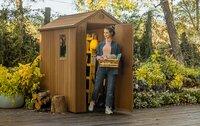 Neue Keter Gartenhaus-Generation kombiniert Holz-Look mit null Pflegeaufwand