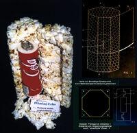 Popcorn als Verpackungsmaterial bzw. Verpackungsumhüllung